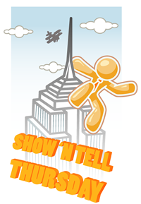 Show 'n tell thursday logo - new style - small version
