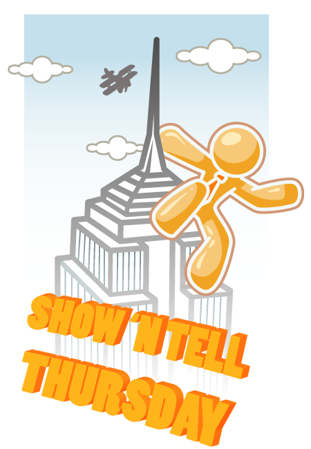 Show 'n tell thursday logo - new style